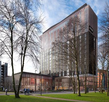 Manchester's dual-branded Crowne Plaza and Staybridge Suites on course to open early 2018