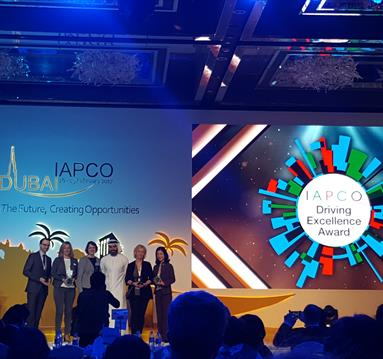 Vicky Rosin, Programme Director of ESOF 2016, Wins IAPCO Driving Excellence Client Award 2017